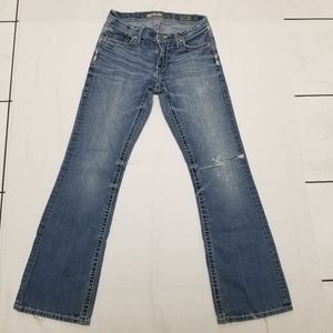 BKE Denim Fulton Mens boot cut Jeans size 31L